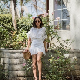 Aimee_song_of_style_isabel_marant_white_ruffle_dress_bembien_wicker_bag_sandals