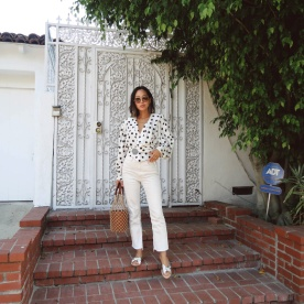 Aimee_song_of_style_jacquemus_wrap_top_loeffler_randall_silver_sandals_Staud_Macrame_Bag