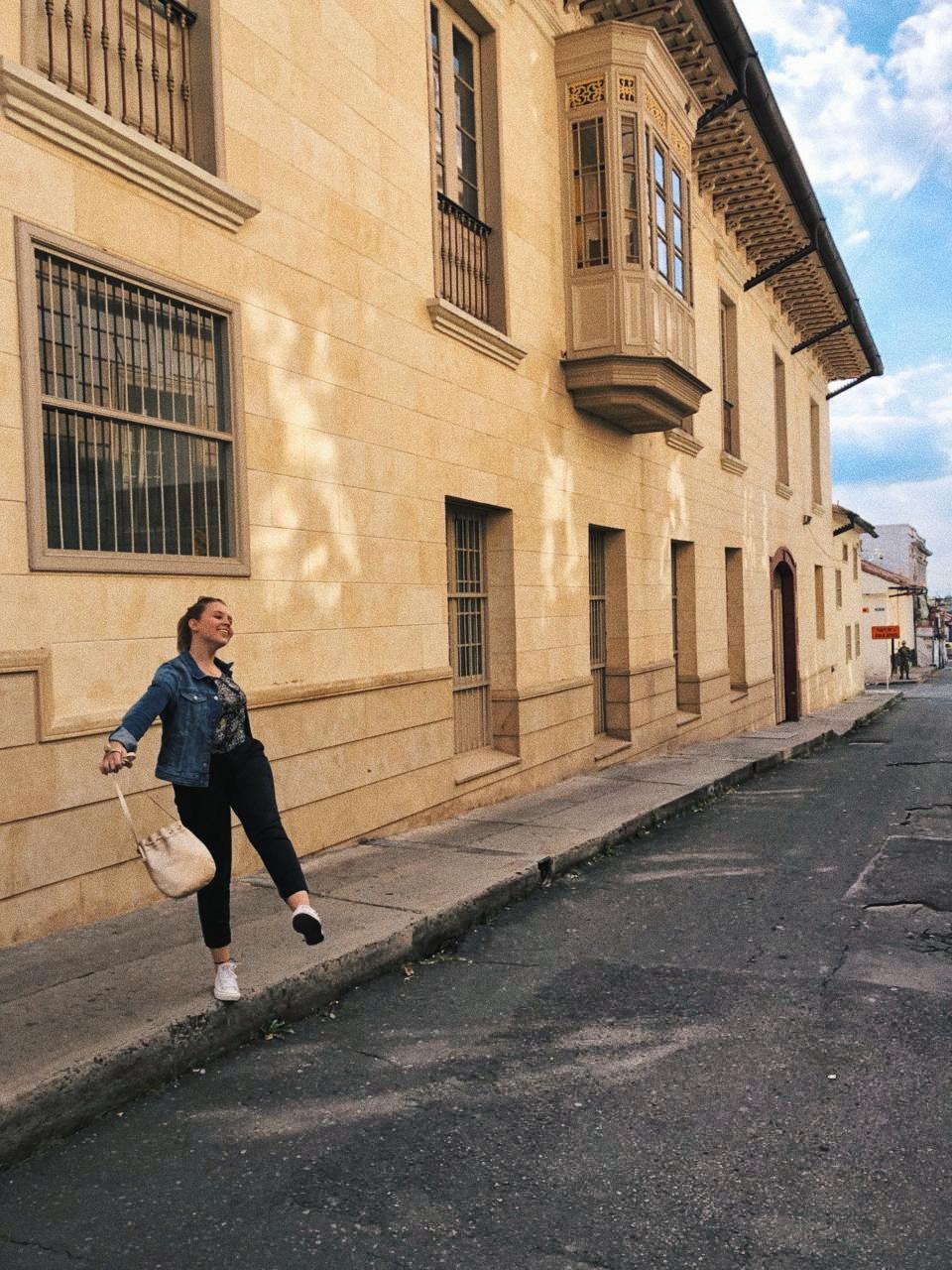 En las calles de laCandelaria